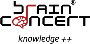 Brain - logo+slogan color